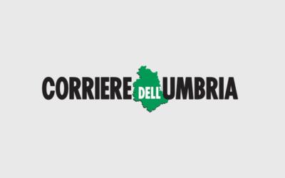 Nuova sponsorizzazione nel Corriere dell'Umbria per il mese di ottobre.