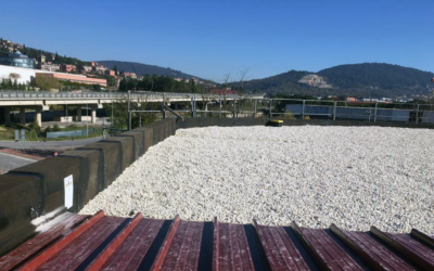 Sistema anticaduta su edificio commerciale con copertura piana ad Ellera di Corciano (PG)